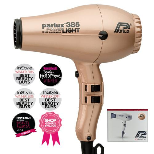 PARLUX 385 CERAMIC/IONIC DRYER LT GOLD