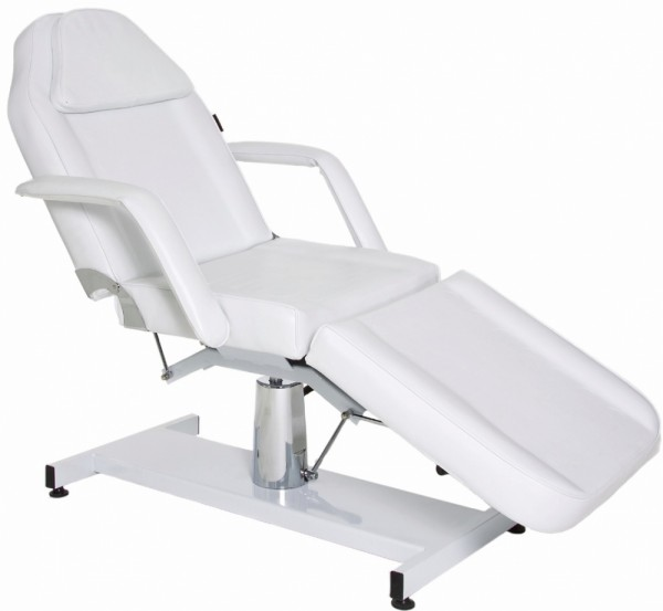 BEAUTY BED HYDRAULIC WHITE