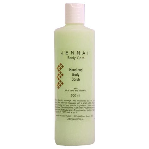 JENNAI HAND & BODY SCRUB 500GM