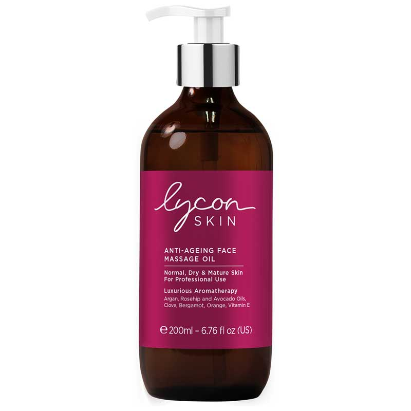 LYCON ANTI-AGING FACE MASSAGE OIL 200ML