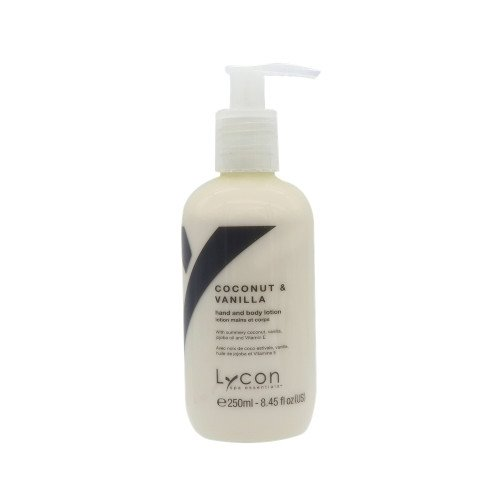 LYCON COCONUT & VAN H/BODY LOTION 250ML