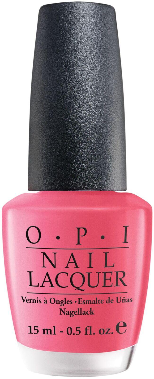 Opi Strawberry Margarita 15ml Nail Polish Polish Lacquers Product Detail Beauty Warehouse