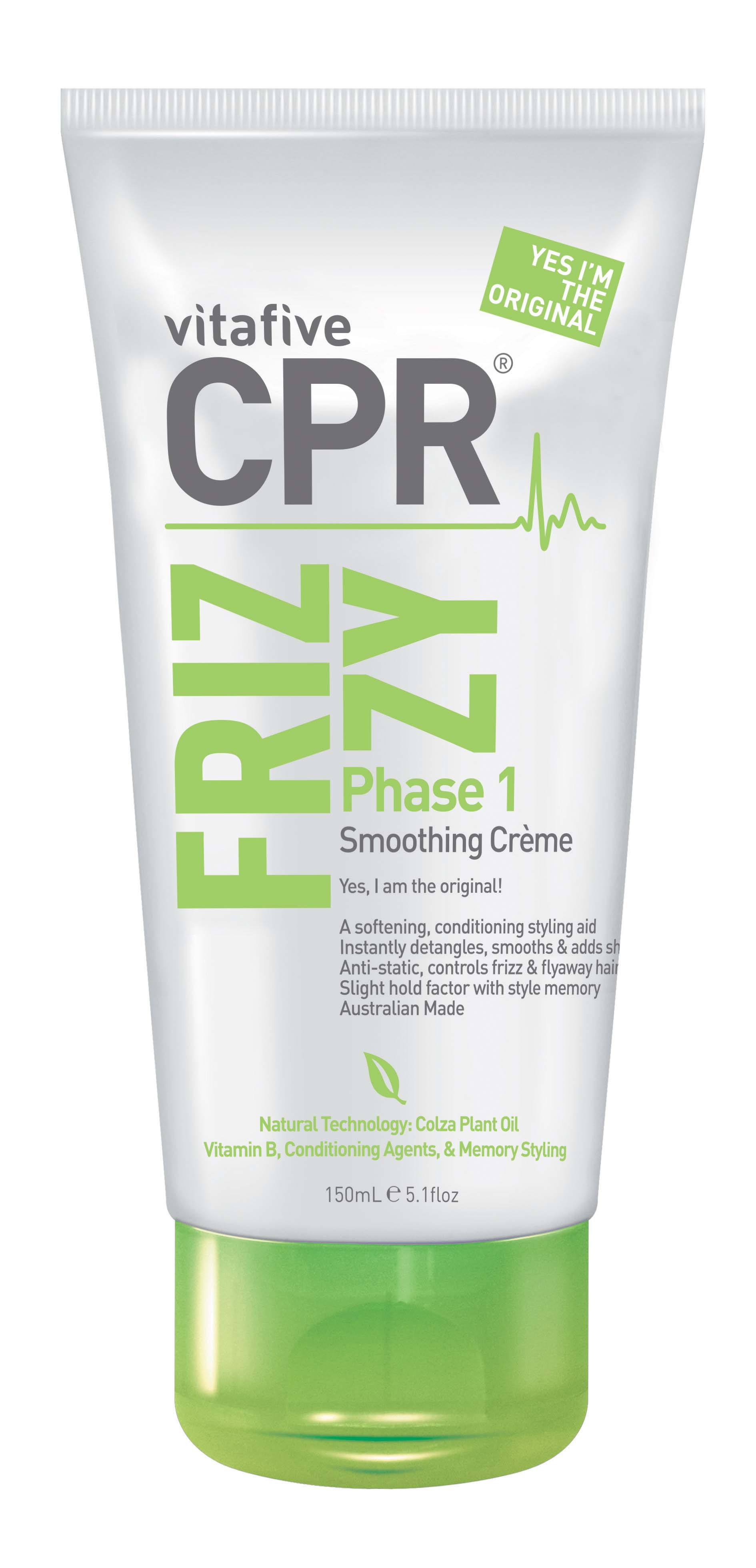 V5 CPR FRIZZY CREME 150ML