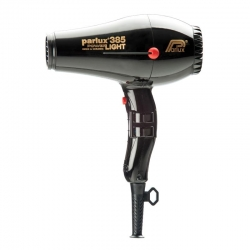 PARLUX 385 CERAMIC/IONIC DRYER BLACK