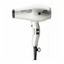 PARLUX 385 CERAMIC/IONIC DRYER SILVER