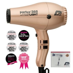 PARLUX 385 CERAMIC/IONIC DRYER LT GOLD - Click for more info