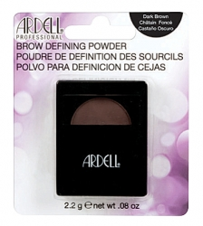ARDELL BROW POWDER DARK BROWN