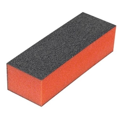 BLACK BUFFING BLOCK ORANGE CENTRE - 1008