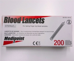 BLOOD LANCETS (200) JPBLCTO3