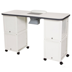 BLISS MANICURE TABLE WHITE