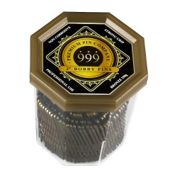 999 PREMIUM BOBBY PINS 2IN BRONZE 250G