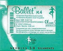 BALLET S/STEEL NEEDLES K4