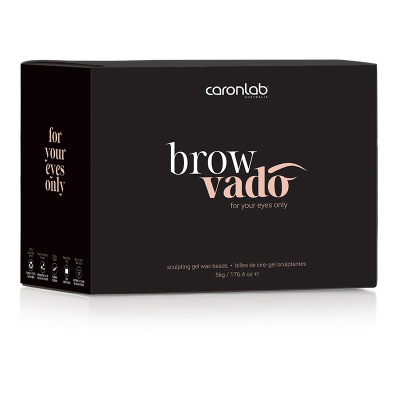 CARONLAB BROWVADO GEL WAX BEADS 5KG