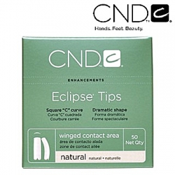 CND ECLIPSE TIPS SIZE 10 50-PK