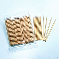 "COTTON TIP MANICURE STICKS 3"" 100PK"