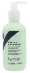 LYCON APPLE & CRAN H/BODY LOTION 250ML