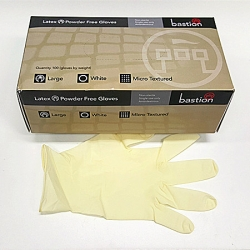 LATEX GLOVE LARGE POWDERFREE