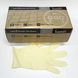 LATEX GLOVE MEDIUM POWDERFREE