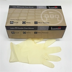 LATEX GLOVE SMALL POWDERFREE
