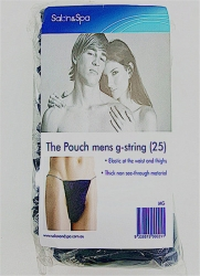 DISPOSABLE MENS G POUCH NAVY (25)