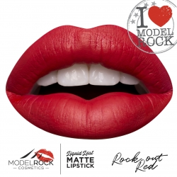 MODELROCK MATTE LIPSTICK ROCK OUT RED