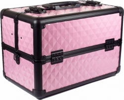MAKE-UP CASE SMALL CARRY PINK