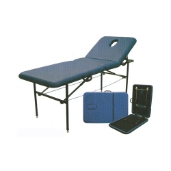 BEAUTY BED PORTABLE BLUE 1015