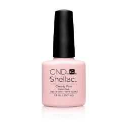 SHELLAC CLEARLY PINK 7.3ML