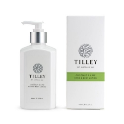 TILLEY BODY LOTION COCONUT LIME 400ML