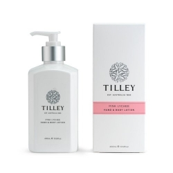 TILLEY BODY LOTION PINK LYCHEE 400ML