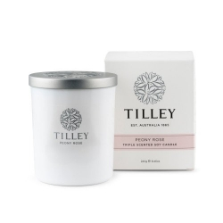 TILLEY SOY CANDLE PEONY ROSE 240GM