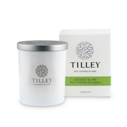 TILLEY SOY CANDLE COCONUT LIME 240GM